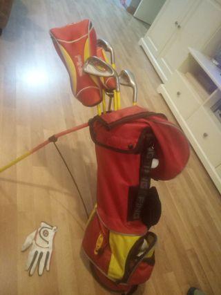 bolsa palos de golf niños ping