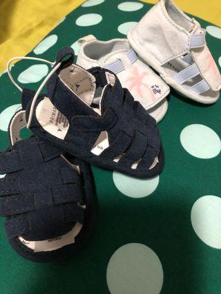 Sandalias/cangrejeras bebé