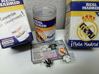 Jarras y llaveros del Real Madrid