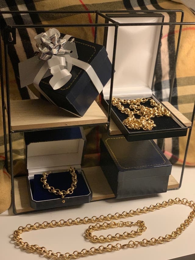Amazing Quality Gold Filled Belcher Set