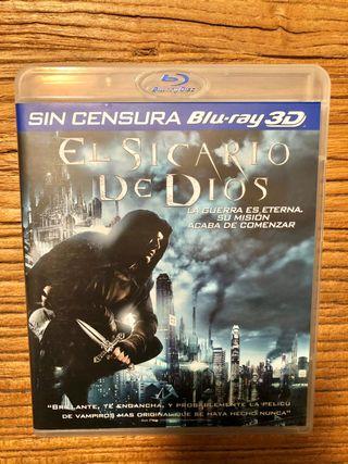 BLU RAY + BLU RAY 3D EL SICARIO DE DIOS