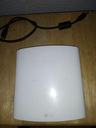 dvd portable y grabador lg