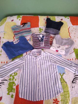 camisa y jersey niño