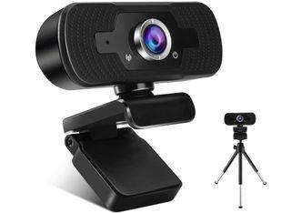 Webcam con micrófono y tripode, NUEVO
