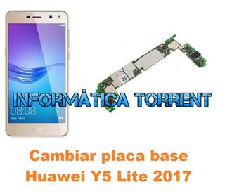 Cambiar Placa Base Huawei Y5 Lite 2017