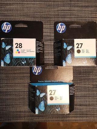 Cartuchos de tinta para hp