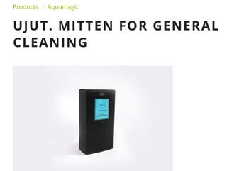 UJUT. MITTEN FOR GENERAL CLEANING