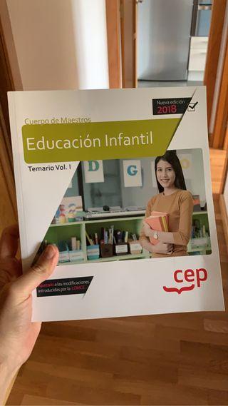 Oposiciones Educación Infantil