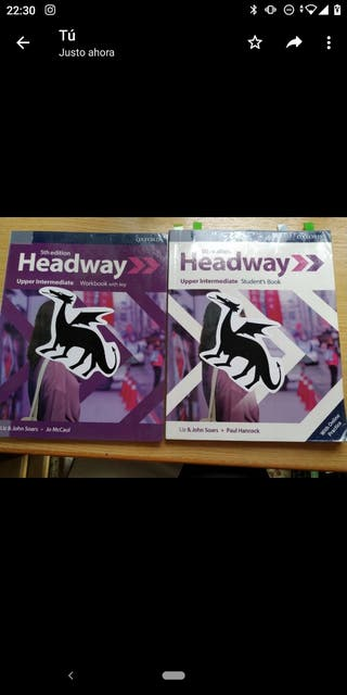 Libro de inglés B2 Headway upper intermediate B2.2