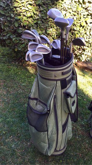 Juego palos Golf Mujer Mitsushiba Grafito