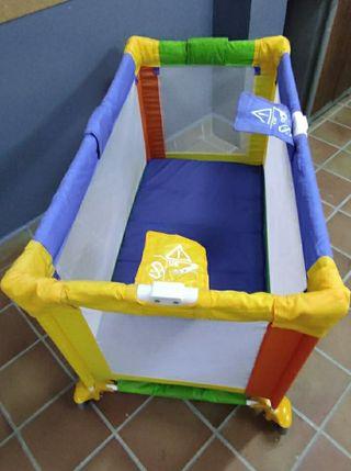 Parque Infantil Cuna de Bebé plegable con funda