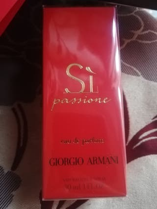parfum si de giorgeo armani neufe 30ml