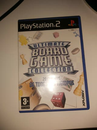 Juego para Ps2 (Ultimate Board Game Collection)