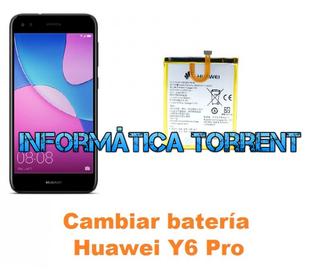 Cambiar Batería Huawei Y6 Pro