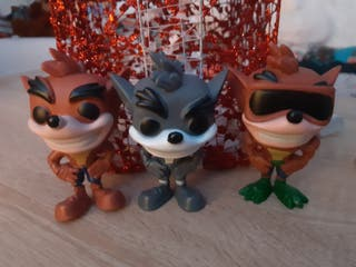 Funko Pops Crash Bandicoot