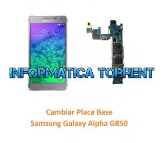 Cambiar Placa Base Samsung Alpha
