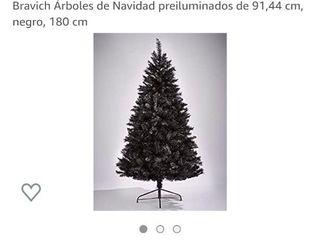 Árbol Navidad. REGALO JUEGO DE LUCES Y ADORNOS