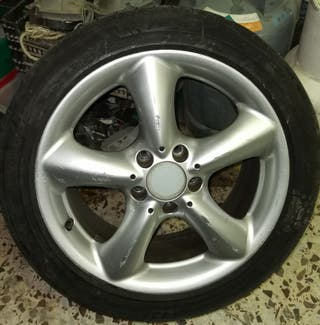 Llanta aluminio Mercedes clase C