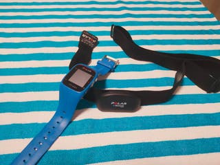 Polar M400 GPS + banda pulsómetro.