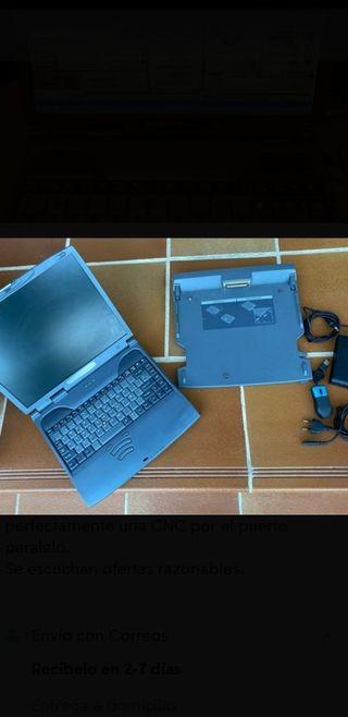 ordenador portátil Toshiba satélite pro 4200