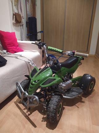 quad 49 cc gasolina para niños