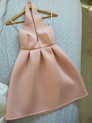 Talla 34 Vestido rosa, ropa mujer