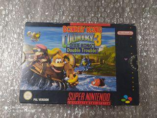 Donkey Kong 3 de Super Nintendo