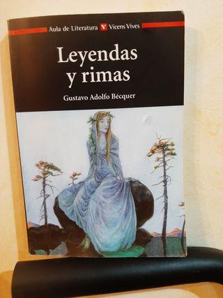 Libro Leyendas y Rimas