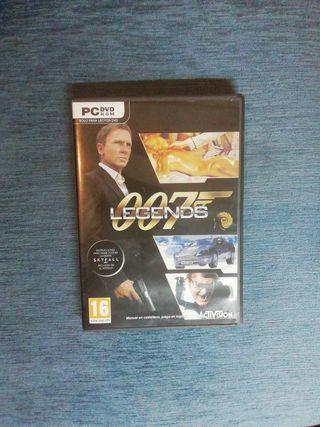 VIDEOJUEGO 007 Legends PC