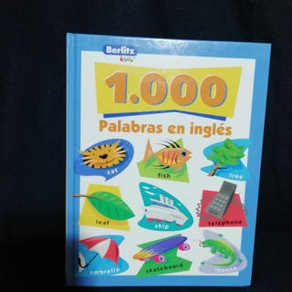 "LIBRO ""1000 PALABRAS EN INGLÉS"""