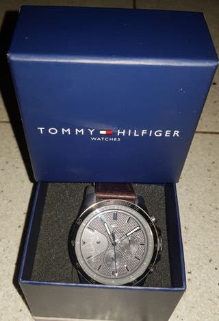 Reloj Hombre Tommy Hilfiger Cuero Genuino