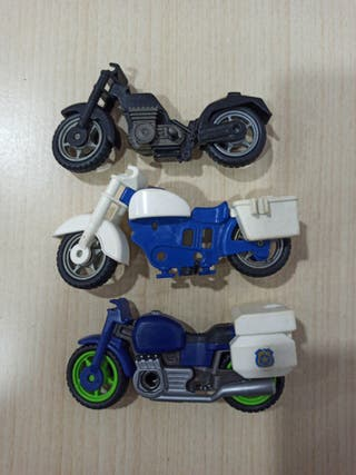 Motos Playmobil