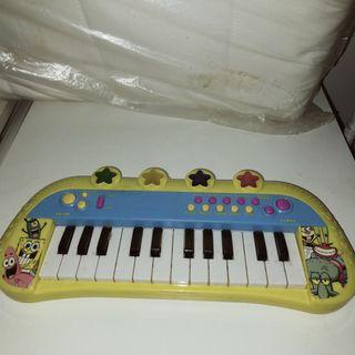 Piano infantil bob esponja