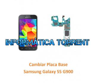 Cambiar Placa Base Samsung S5