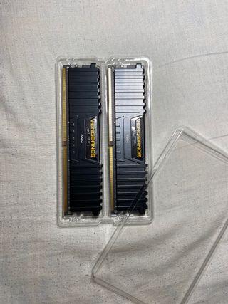 Memoria RAM Corsair Vengeance 2x8gb 2400MHz