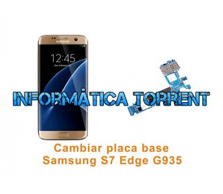 Cambiar Placa Base Samsung S7 Edge G935
