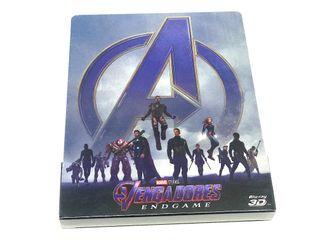Vengadores: Endgame. Steelbook (Blu-ray 3D + 2D)