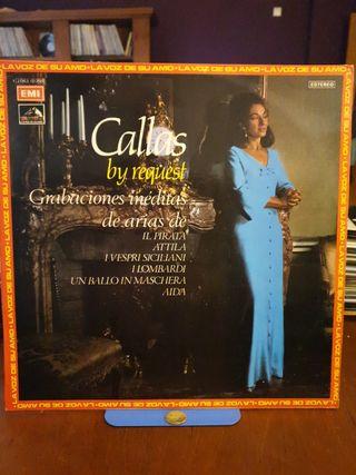 DISCO VINILO CALLAS BY REQUEST 1972