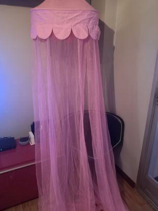 mosquitera para cama de princesas