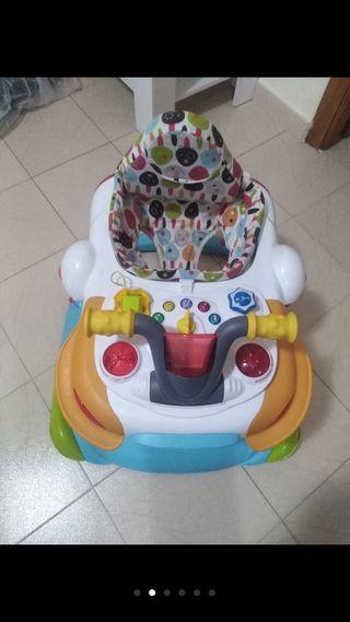 Andador Saltador bebé Taca taca Champions ms