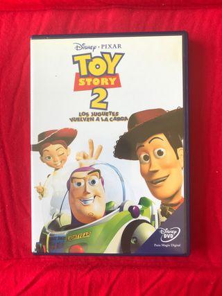 "DVD "" TOY STORY 2 "" Los juguetes vuelven a casa"