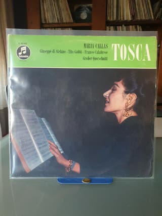 DISCO VINILO MARIA CALLAS TOSCA