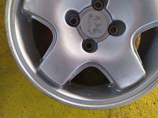 Llantas Peugeot 405 mi16 4x108 15 pulgadas