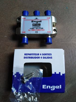 Distribuidor de 4 salidas Engel para satélite