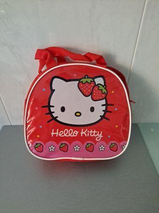 Bolso rojo pequeño de Hello Kitty