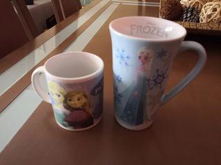 tazas de frozen desayuno