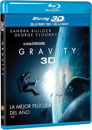 gravity 3d bluray