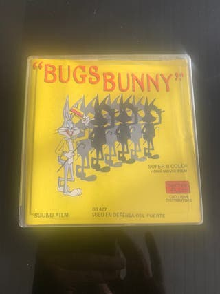 Película súper 8 color/sonora Bugs Bunny