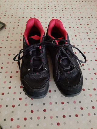 Calzado bamba bota trekking