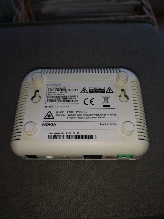 ONT Router Nokia G-010G-P